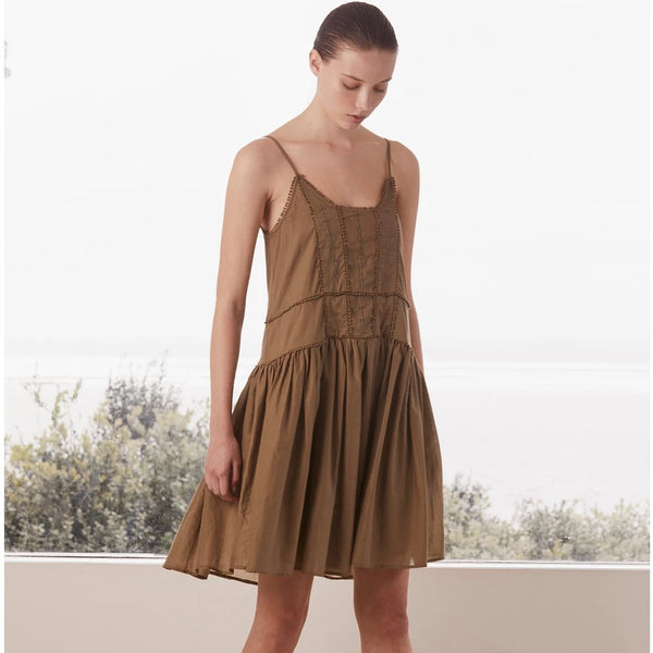 Alia Dress / Khaki
