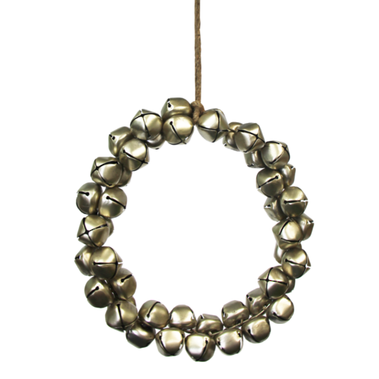 Gold Bell Wreath