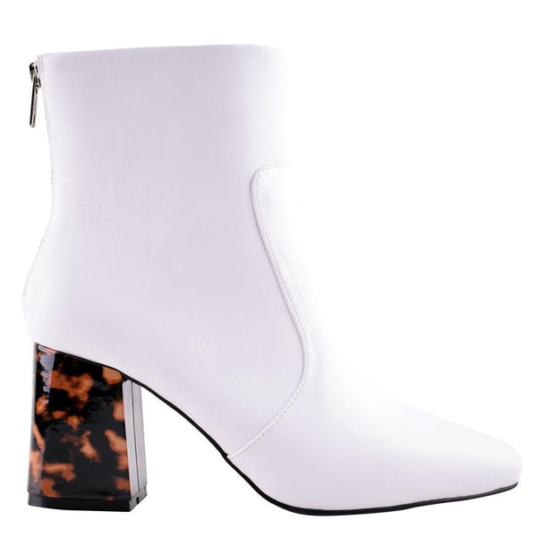 Cecile Boot in White