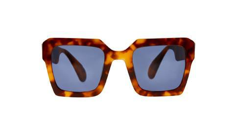 Damage Sunglasses in AMBER TORT