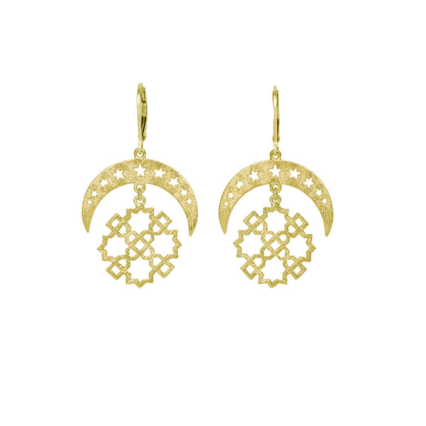 Essaouira Earrings | Gold
