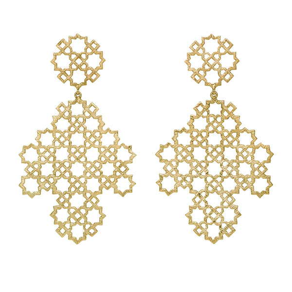 Ketama Earrings in Gold