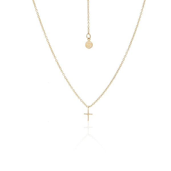 Cross Necklace / Gold
