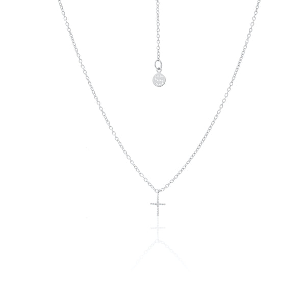 Cross Necklace / Silver