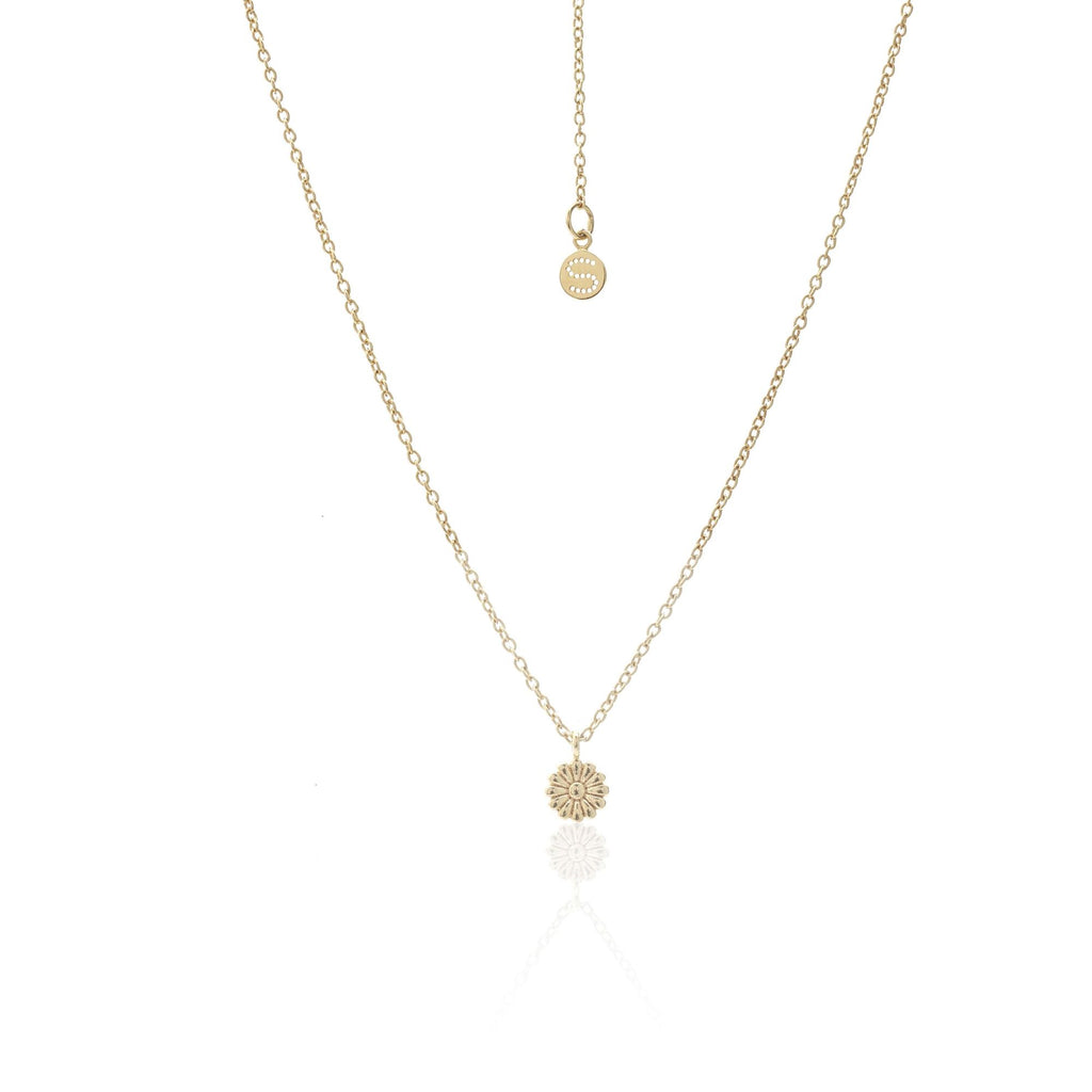 Daisy Necklace / Gold