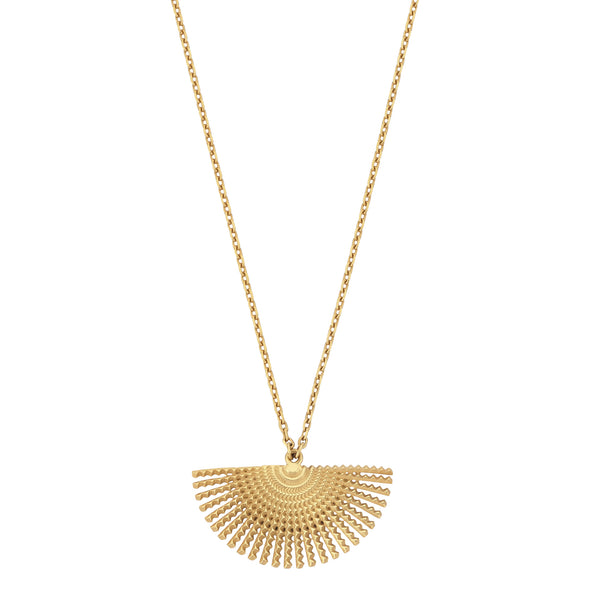 Sol necklace - 22k Gold Plate