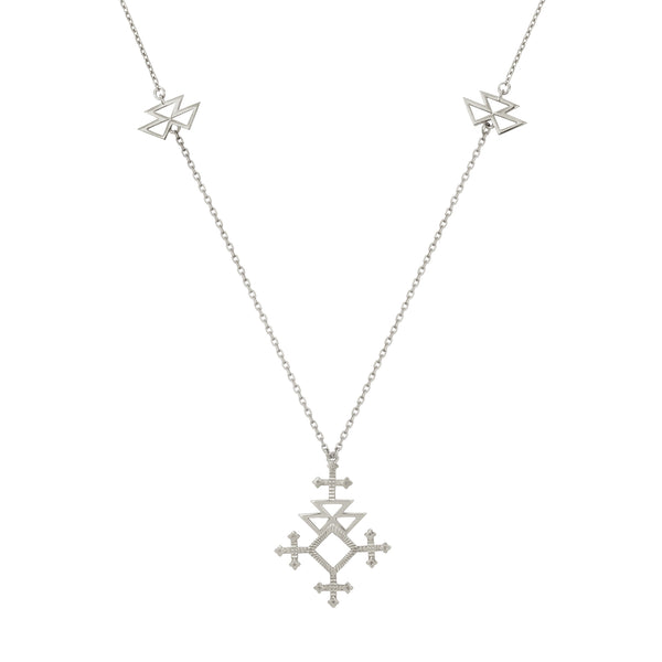 Talitha Necklace / Silver
