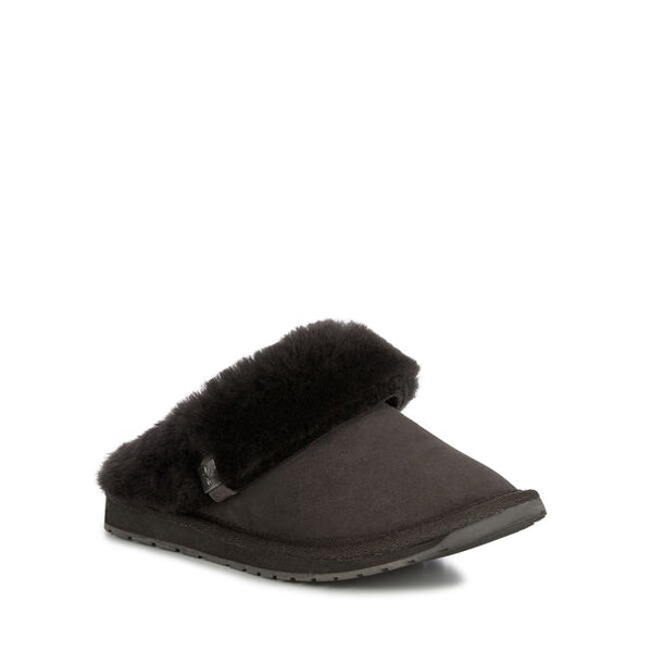 Platinum Eden Slipper / Black