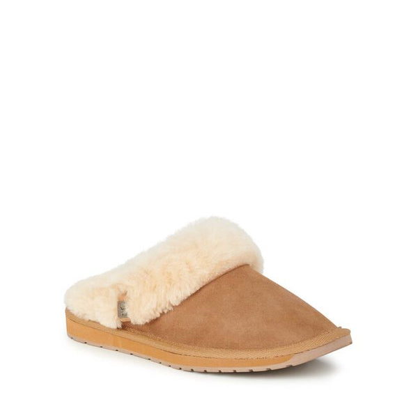 Platinum Eden Slipper / Chestnut