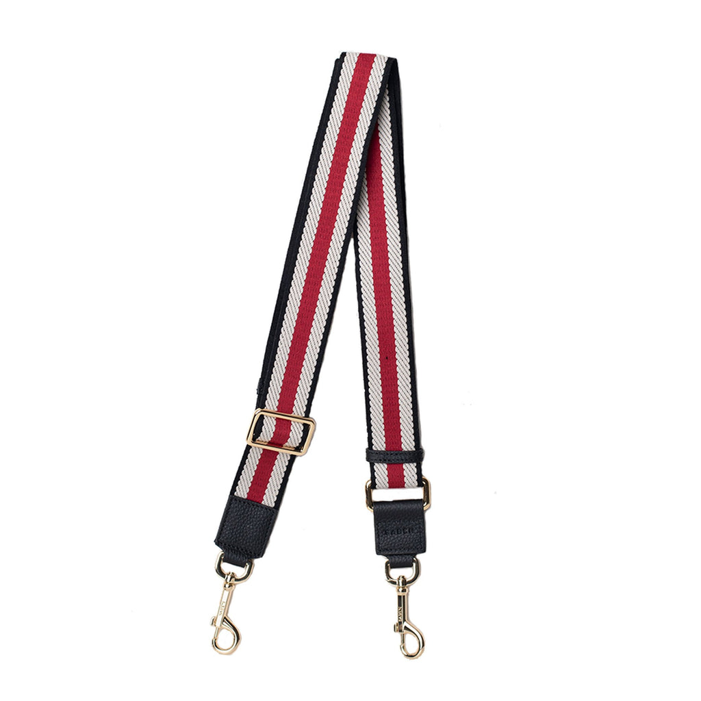 Feature strap / Red, Black & White