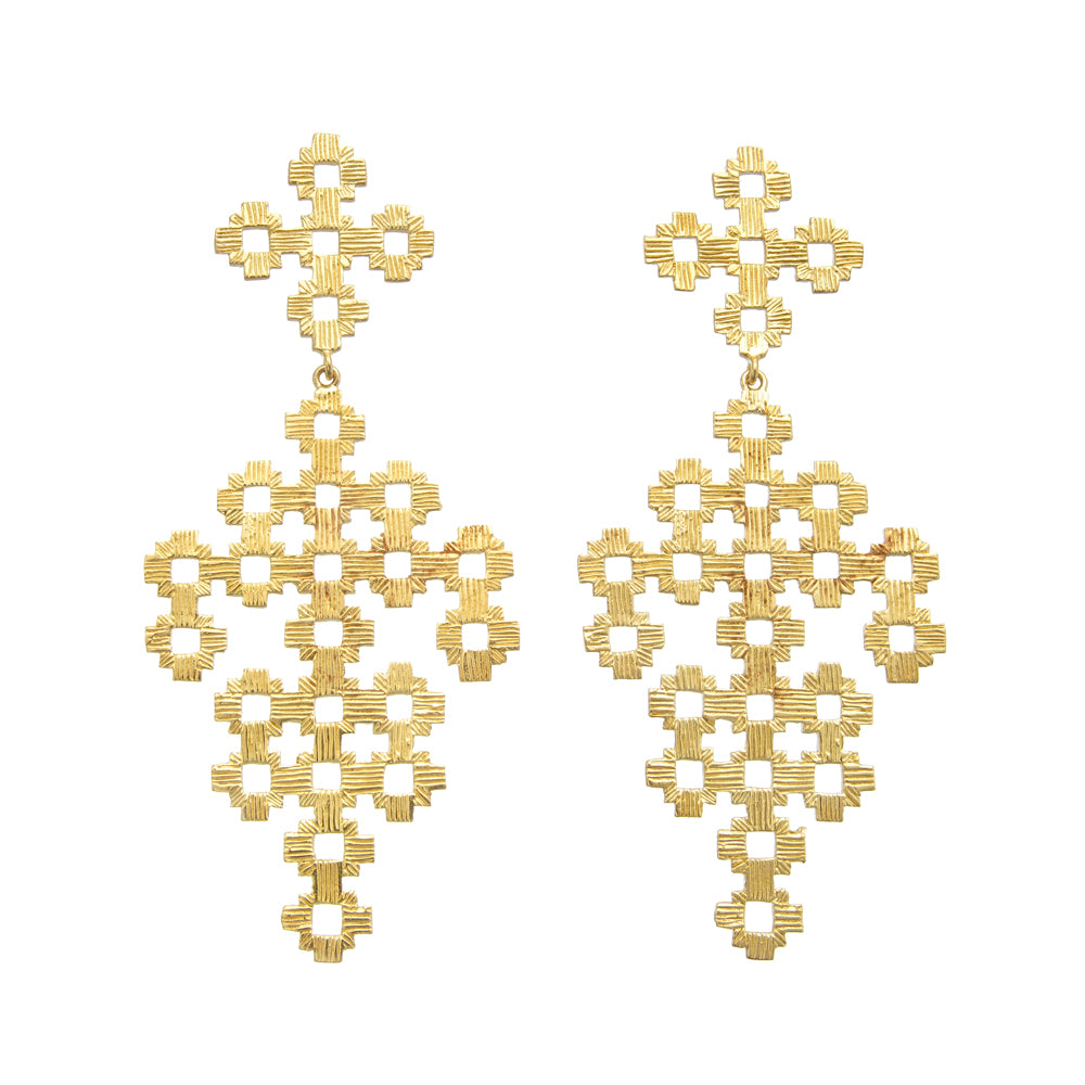 Zoe & Morgan | Chimi Earrings | Gold | Shop online at The Birdcage