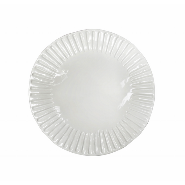 Corsica Lunch Plate / Antique White