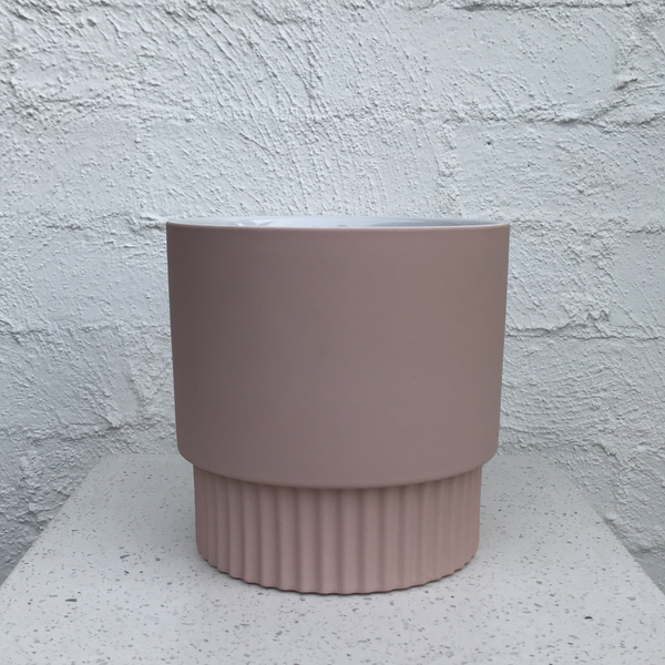 Pastel Matte Pot / blush pink / Large