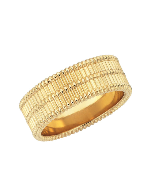 Moored Stacker Ring / Gold