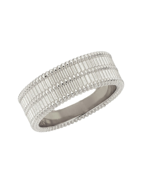 Moored Stacker Ring / Silver