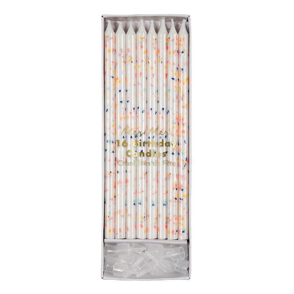 Birthday Candles - Multicolours Fleck