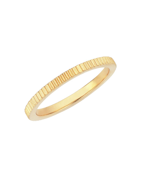 Secure Stacking Ring / Gold
