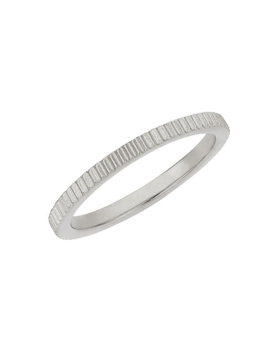 Secure Stacking Ring / Silver
