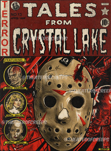 "Tales From Crystal Lake 9x12"" Print"