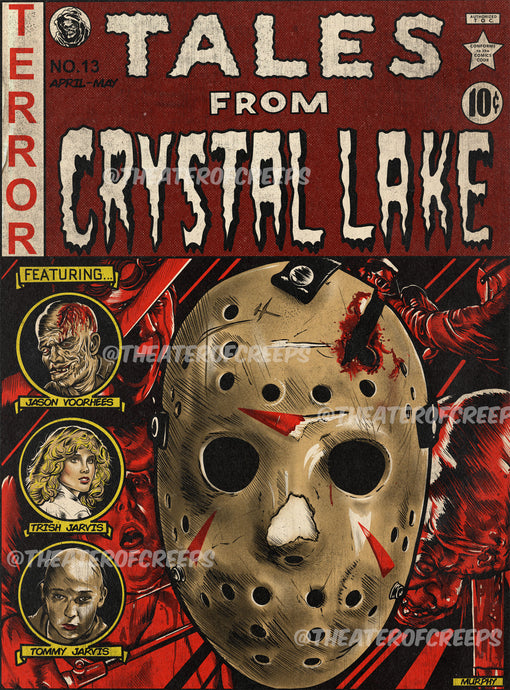 Tales From Crystal Lake 9x12