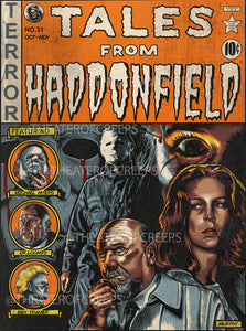 "Tales From Haddonfield 9x12"" Print"
