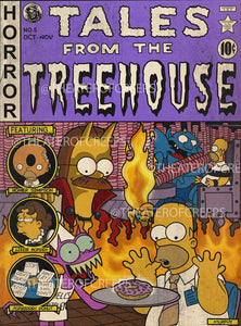 "Tales From The Treehouse V2 18x24"" Poster"
