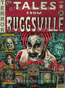 "Tales From Ruggsville 9x12"" Print"