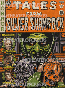 "Tales From Silver Shamrock 9x12"" Print"