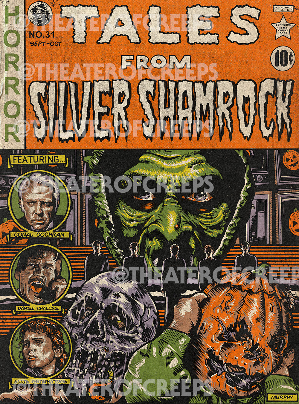 Tales From Silver Shamrock 9x12