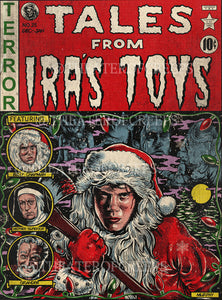 "Tales From Ira's Toys 9x12"" Print"