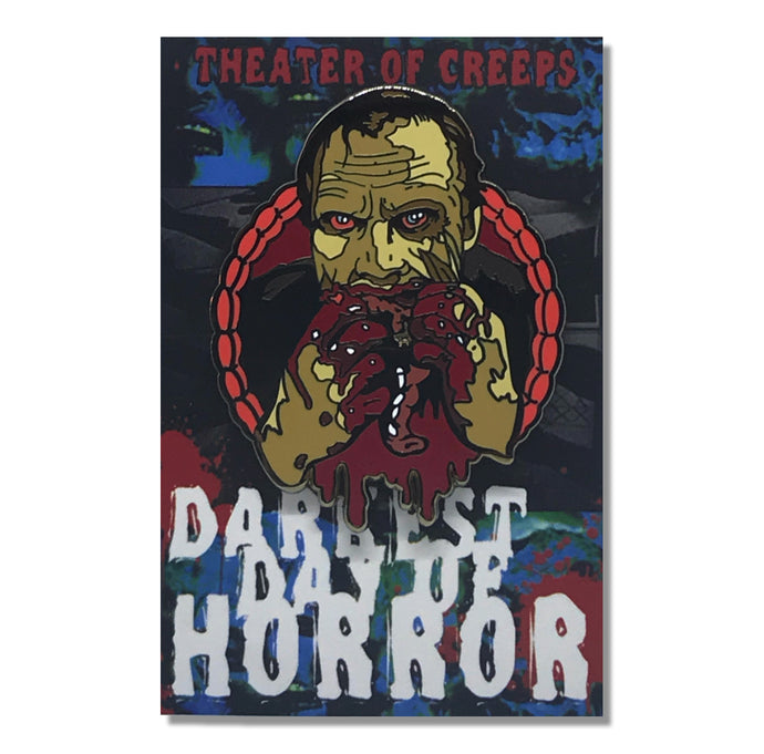 Darkest Day Of Horror Hard Enamel Pin