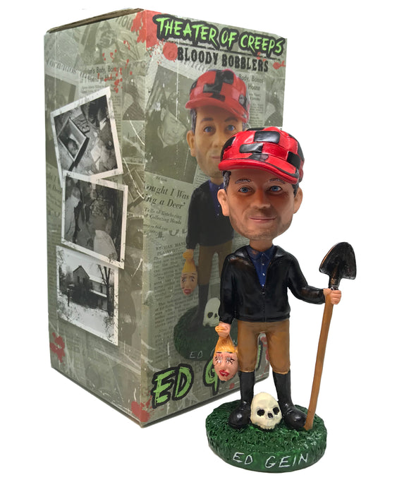 Ed Gein 'Bloody Bobblers' Bobble Head