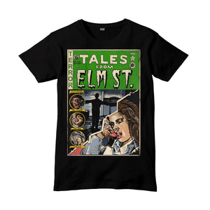 'Tales From Elm St.' Black T-Shirt