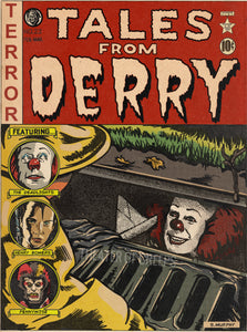"Tales From Derry 9x12"" Art Print"