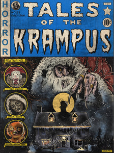 "Tales Of The Krampus 9x12"" Print"