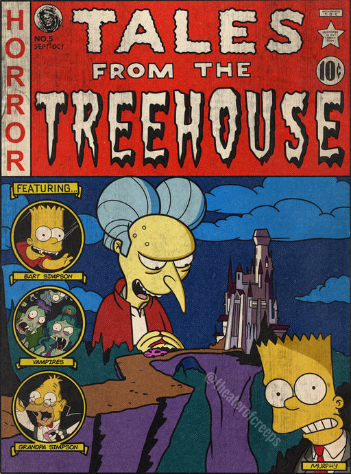 Tales From The Treehouse 18x24
