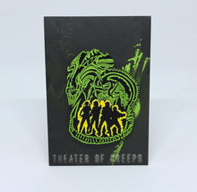 Elevator To Hell GITD Enamel Pin