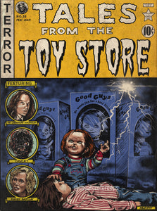 "Tales From The Toy Store 9x12"" Print"