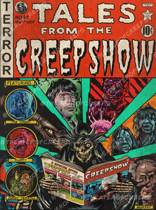 "Tales From The Creepshow 9x12"" Print"