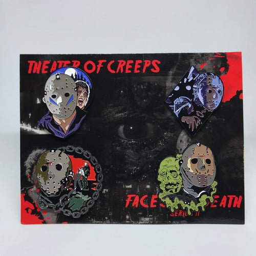 Faces Of Death: Series 2 Enamel Pin Set