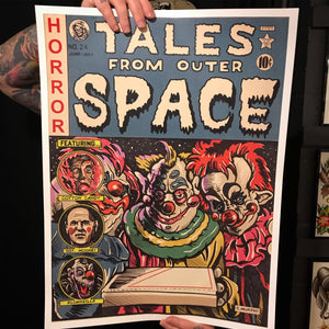 "Tales From Outer Space 18""x24"" Poster"