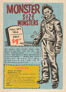 "Monster Size Michael 9x12"" Art Print"