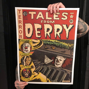 "Tales From Derry 18""x24"" Poster *FINAL RUN*"