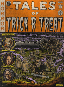 "Tales Of Trick R Treat 9x12"" Print"