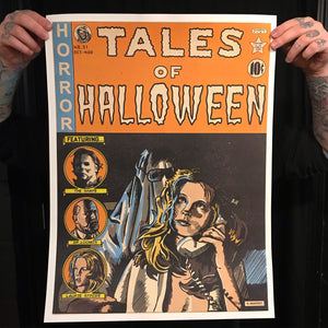 "Tales Of Halloween 18""x24"" Poster"