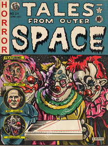"Tales From Outer Space 9x12"" Art Print"