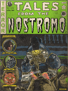 "Tales From The Nostromo 9x12"" Print"