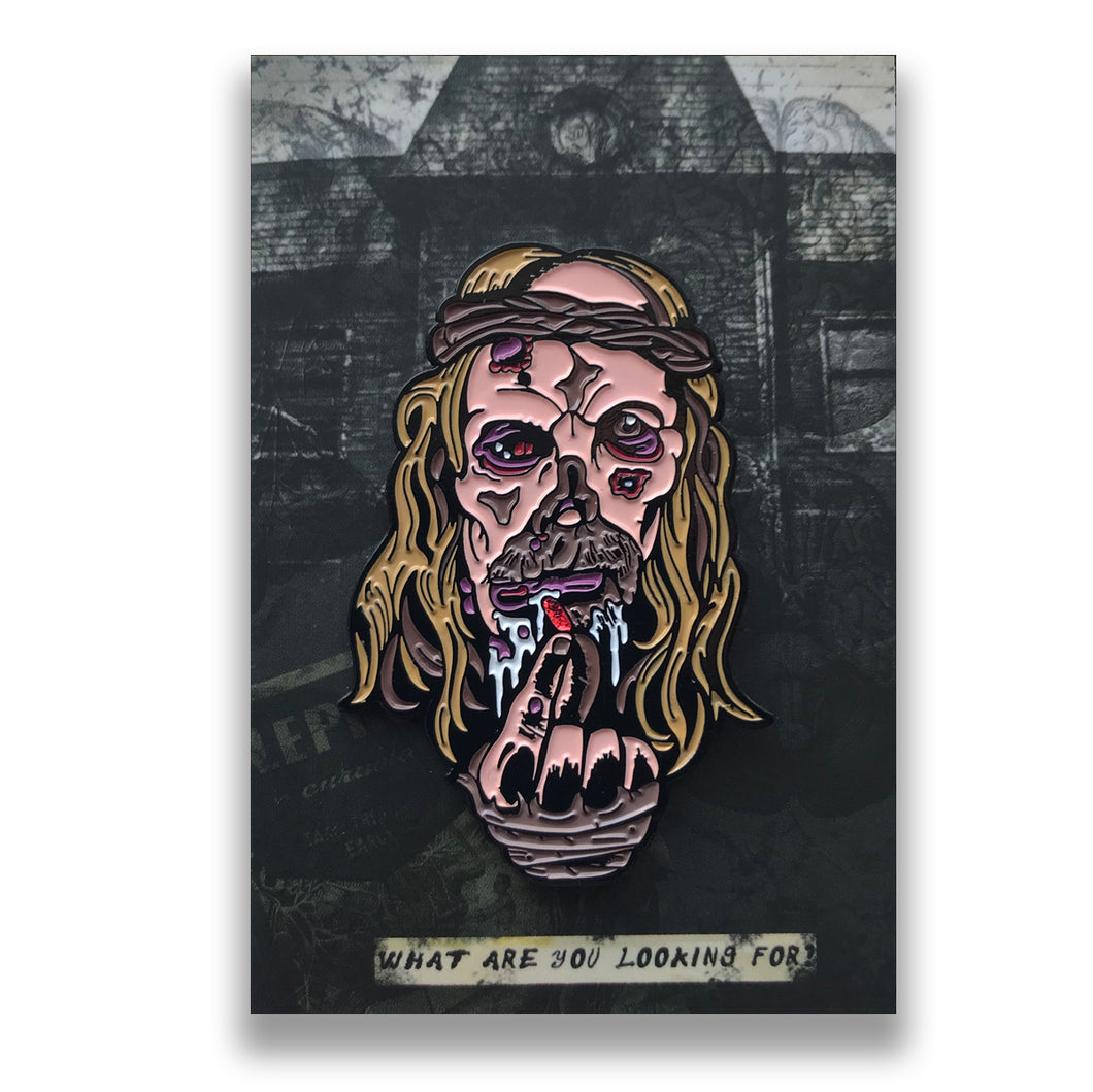 Leper On Neibolt Enamel Pin