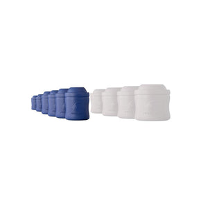 Monster Cooler 12 Pack - 6 Blue 6 White