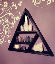 Load image into Gallery viewer, Handmade Triangle Display Shelf